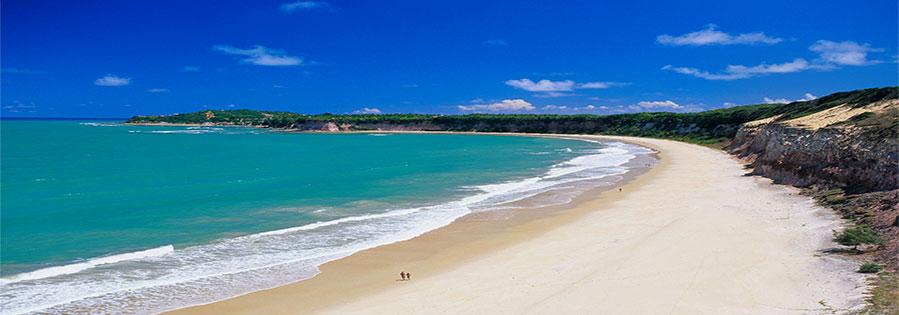 Strand-in-brasilien